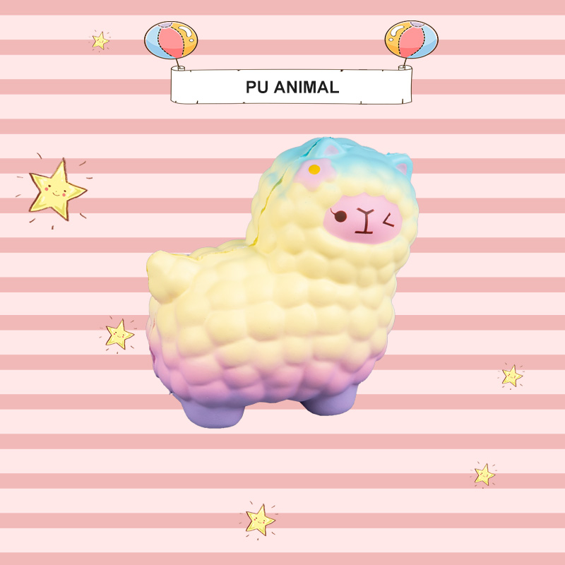 PU ANIMAL TOYS-LAMB