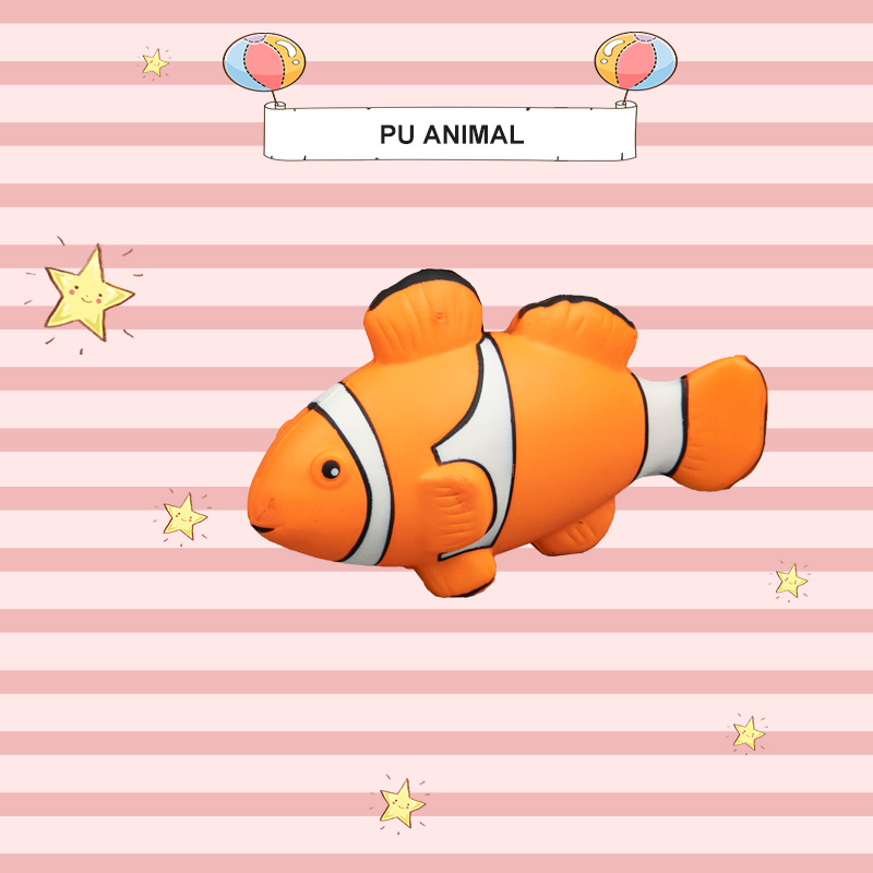 PU ANIMAL TOYS-FISH SERIES