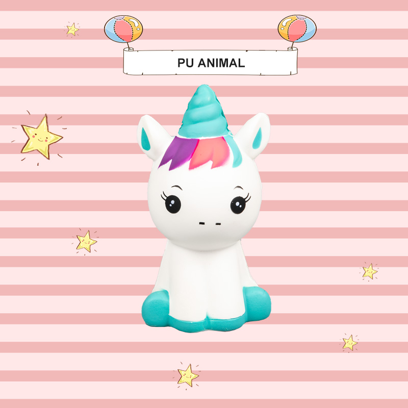 PU ANIMAL TOYS-UNICORN SERIES