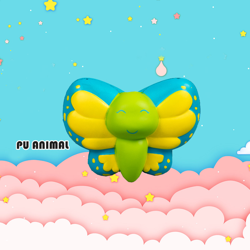 PU ANIMAL TOYS-BUTTERFLY