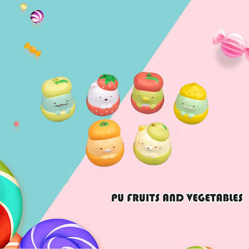 PU FRUITS AND VEGETABLES-FRUIT DOLL