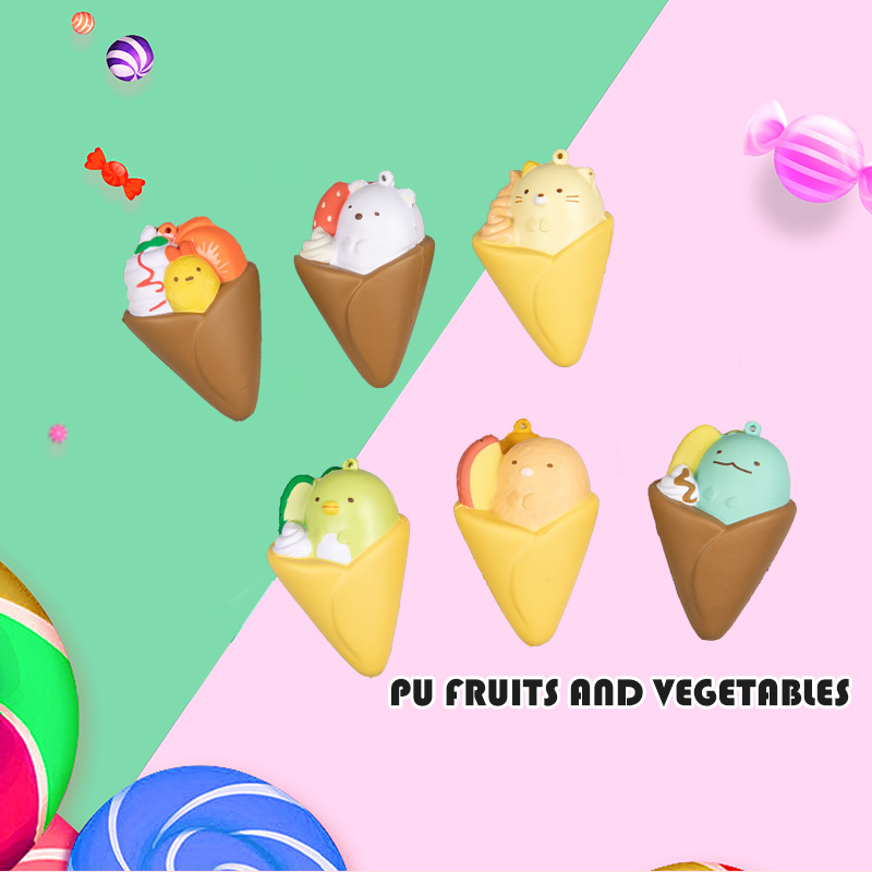 PU FRUITS AND VEGETABLES-FRUIT-FLAVORED ICE-CREAM