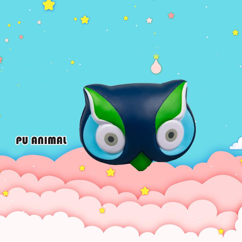 PU ANIMAL TOYS-OWL SERIES