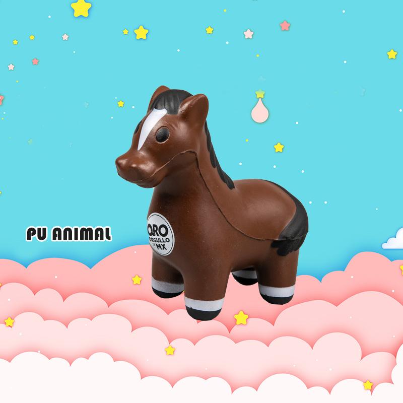 PU ANIMAL TOYS-HORSE SERIES
