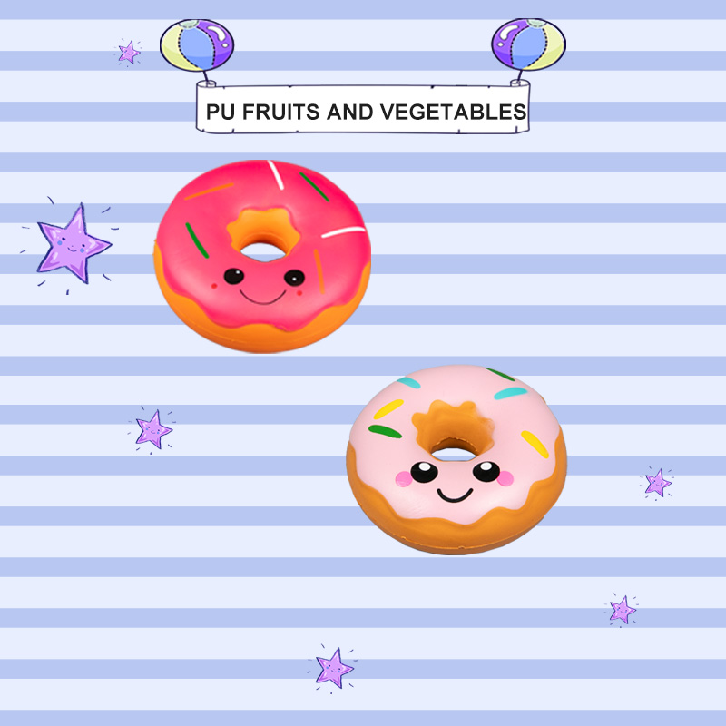 PU FRUITS AND VEGETABLES-DONUTS SERIES