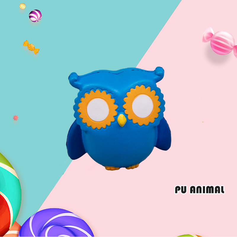 PU ANIMAL TOYS-OWL SERIES