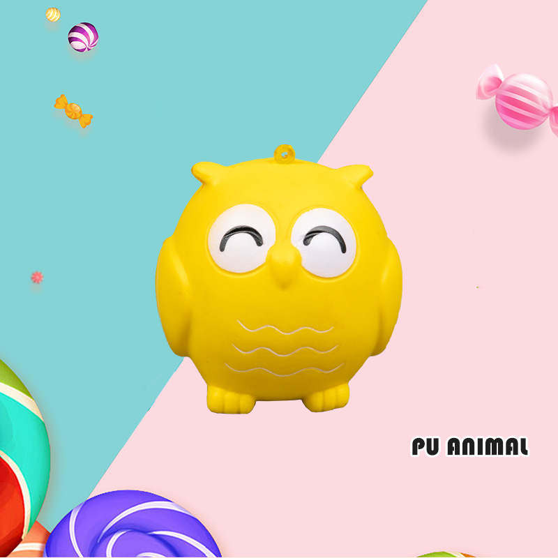 PU ANIMAL TOYS-BIRD