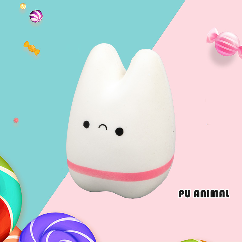 PU ANIMAL TOYS-RABBIT