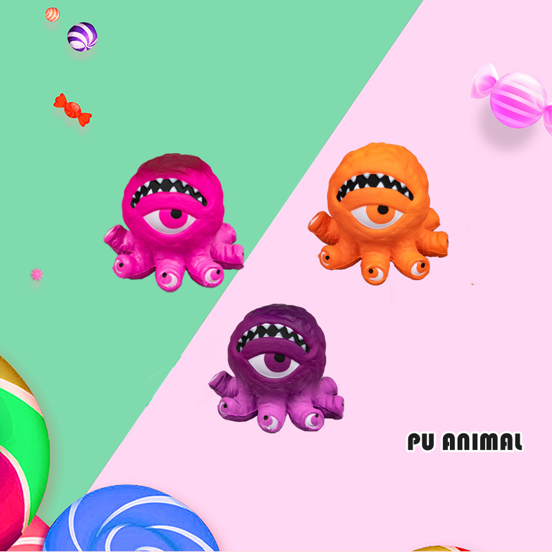 PU ANIMAL TOYS-OCTOPUS SERIES