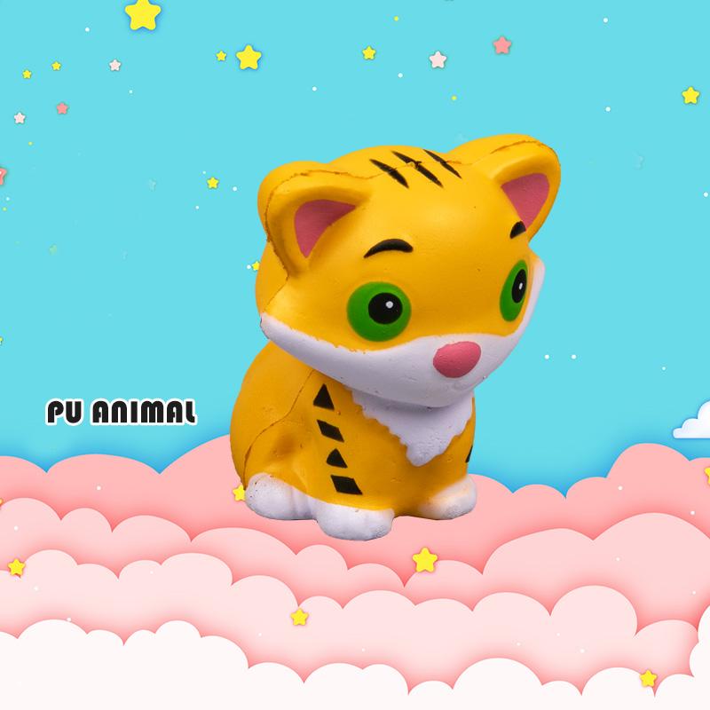 PU ANIMAL TOYS-TIGER SERIES