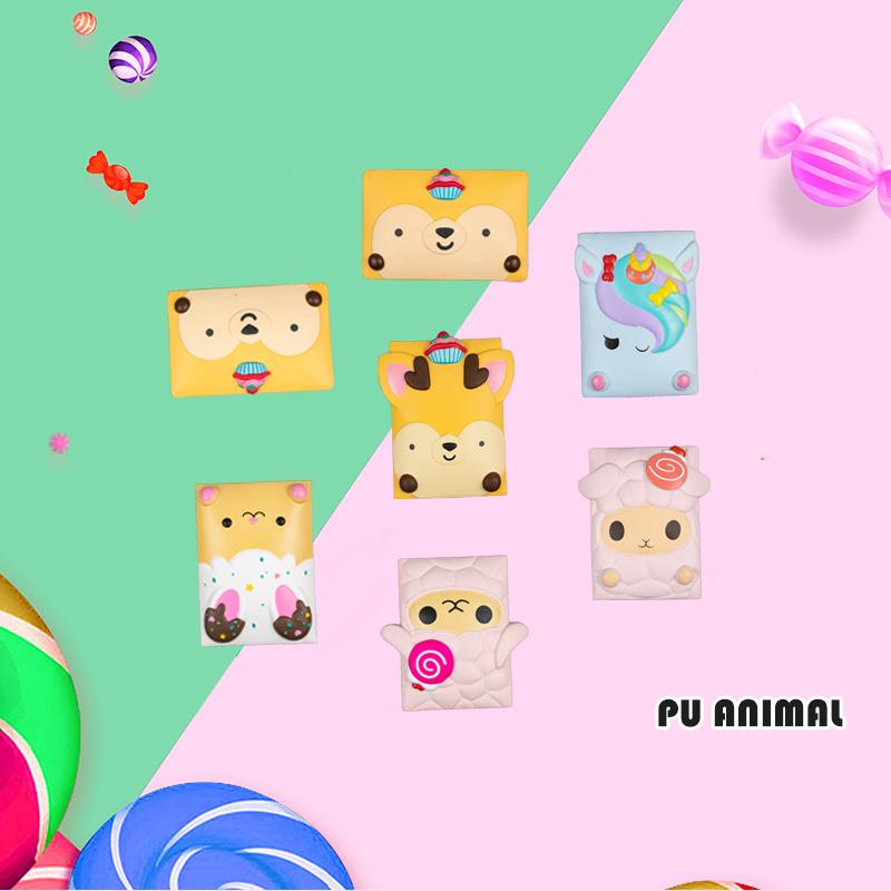 PU ANIMAL TOYS-CARD SERIES