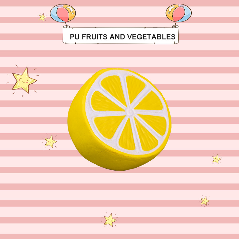 PU FRUITS AND VEGETABLES-LEMON