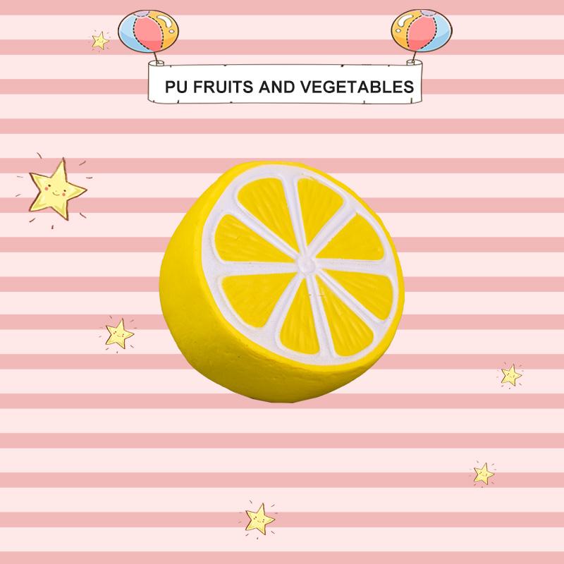 PU FRUITS AND VEGETABLES-LEMON