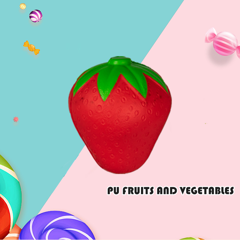 PU FRUITS AND VEGETABLES-STRAWBERRY