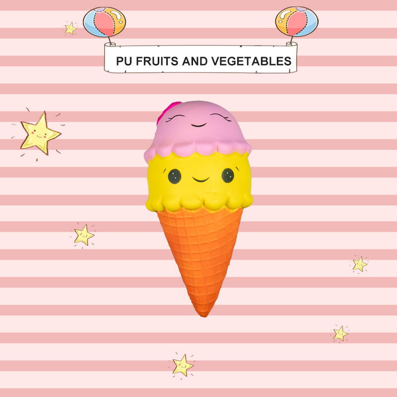 PU FRUITS AND VEGETABLES-ICE CREAM SERIES