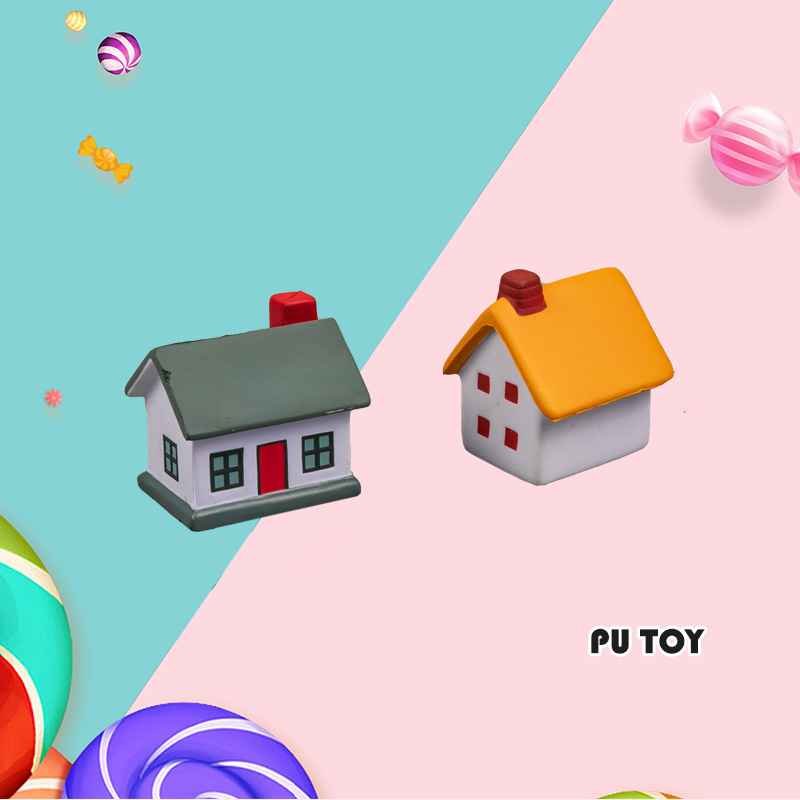 PU TOP SERIES-CARTOON HOUSE