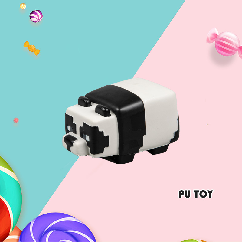 PU TOP SERIES-CARTOON PANDA CAR