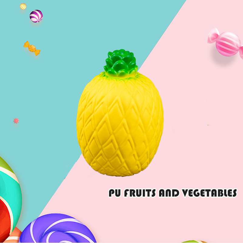 PU FRUITS AND VEGETABLES-PINEAPPLE