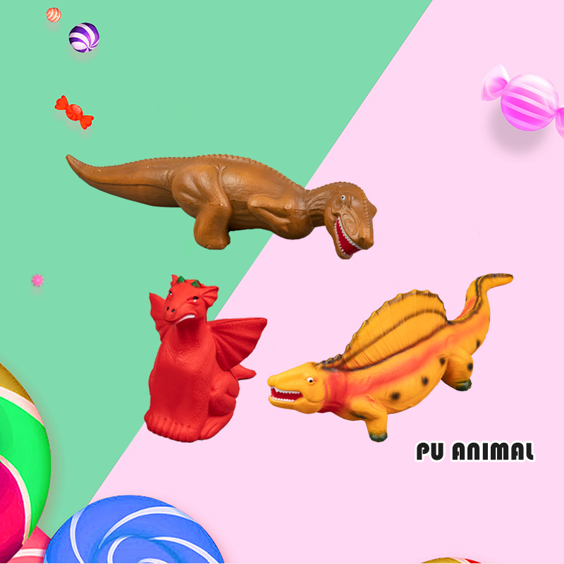 PU ANIMAL TOYS-DINOSAURS COLLECTION