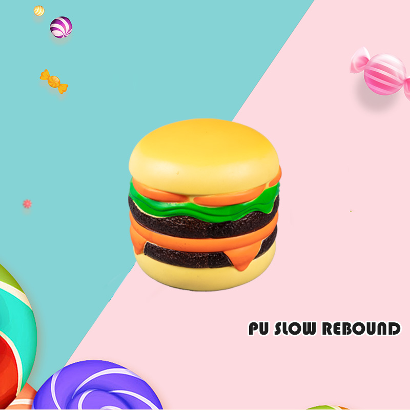 PU PU SLOW REBOUND-YELLOW HAMBURGER