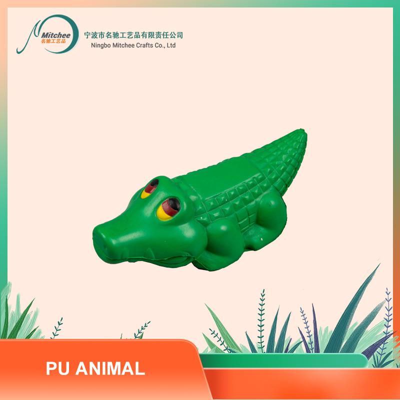 PU ANIMAL TOYS-CROCODILE