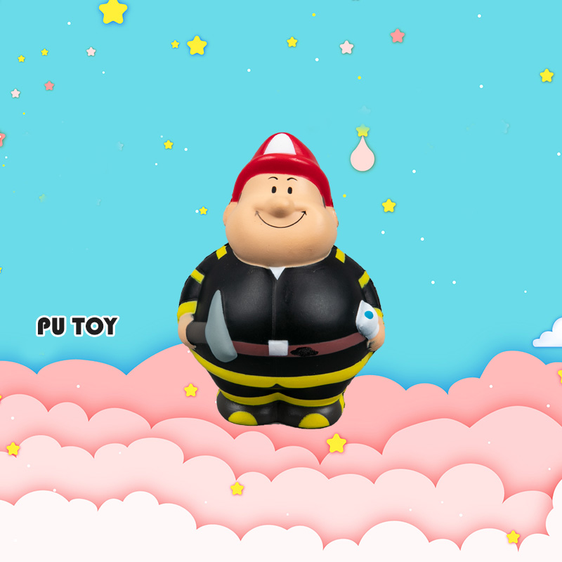 PU TOP SERIES-Construction Workers Toy