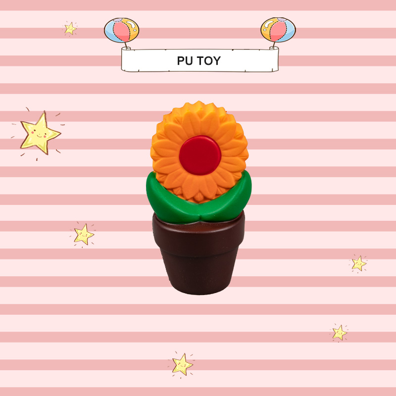 PU TOP SERIES-FLOWER POT TOY