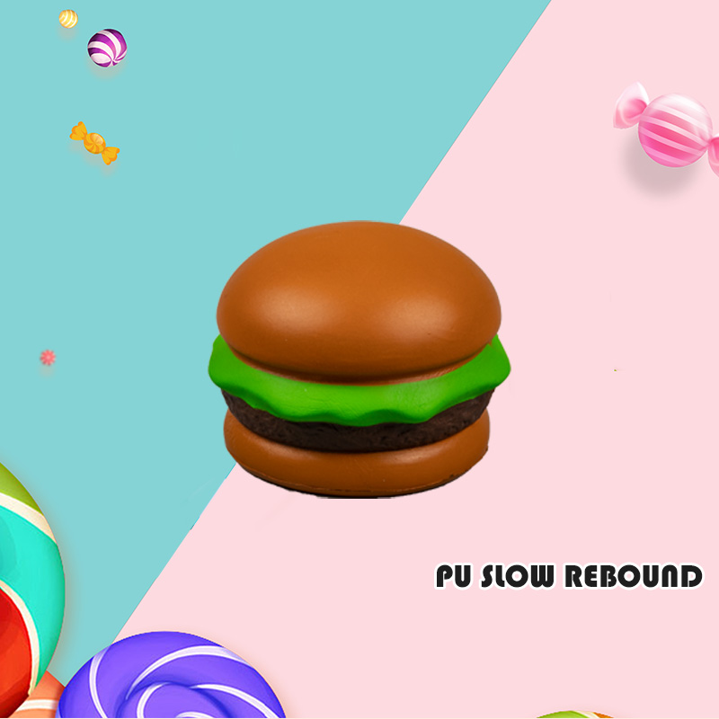 PU PU SLOW REBOUND-BROWN HAMBURGER