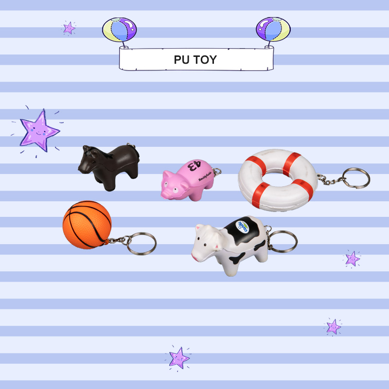 PU TOP SERIES-keychain Toy